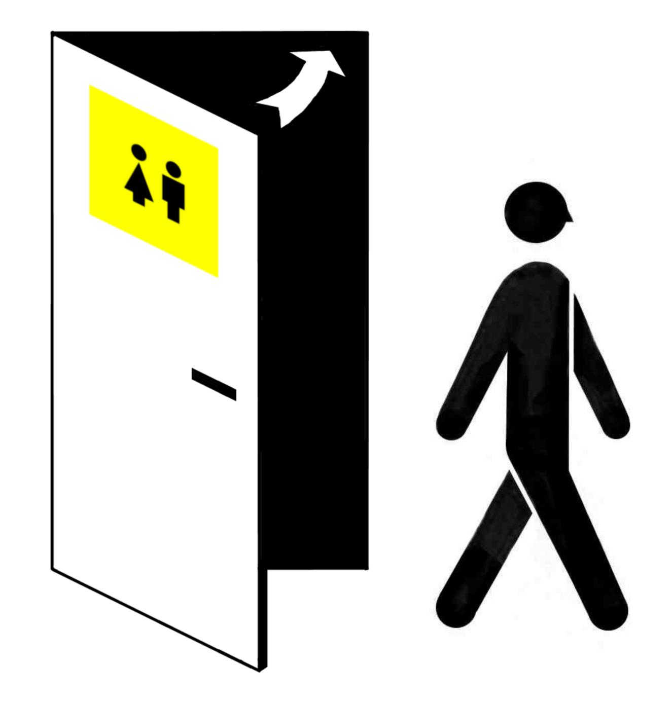 Jak powinny być zaprojektowane drzwi do toalet publicznych