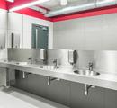 Blaty umywalkowe w toaletach publicznych