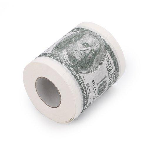papier tolaetowy dolarowki sto 100 dolców