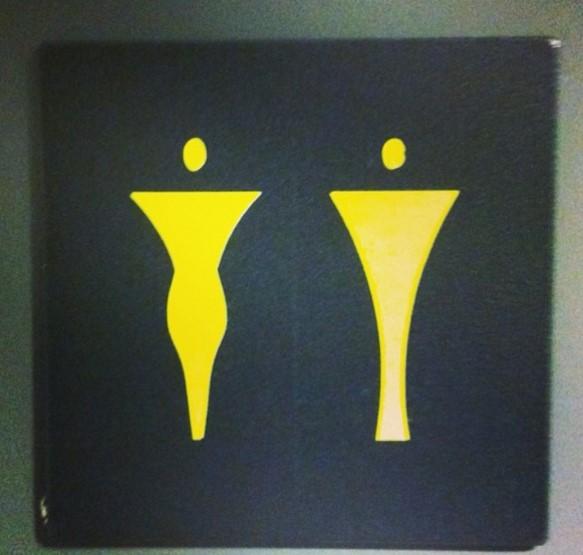 Kosmiczne znaki toaletowe