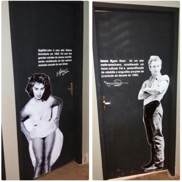 Sophia Loren prowadzi do toalety
