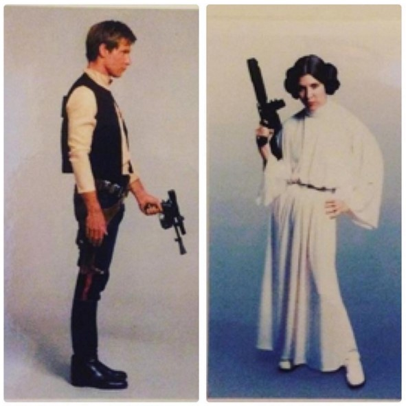 jak ksieziczka Leia lub Han Solo