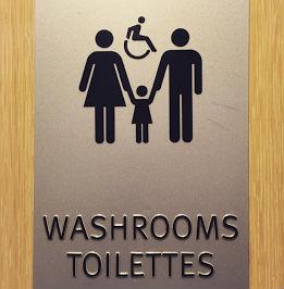 Prorodzinny znak toaletowy