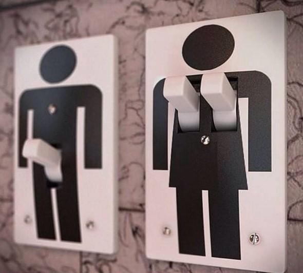 Wulgaryzmy w toaletach