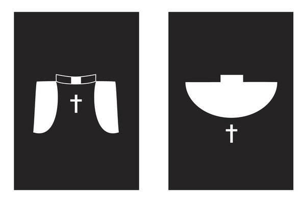Koscielna symbolika w toaletach