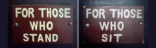 Znak wskazujacy na stereotypy